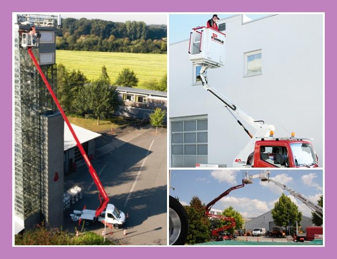 Kuhnle Arbeitsbühnen GmbH Hebebühnenvermietservice  Fellbach, Waiblingen, Stuttgart, Esslingen