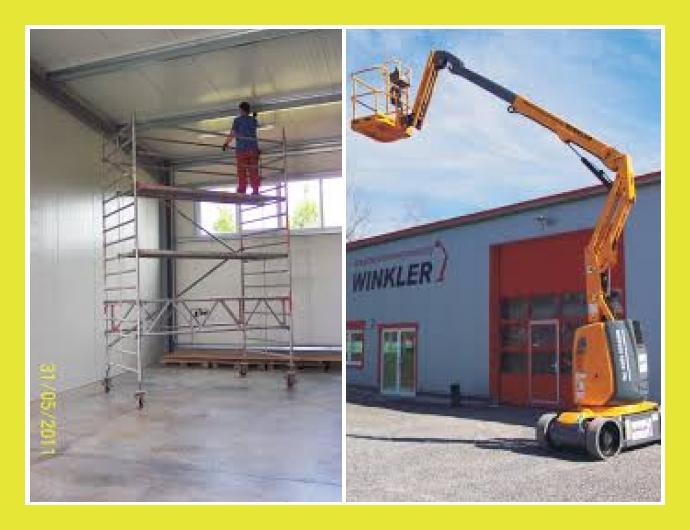 Winkler GmbH  Arbeitsbühnen Gera, Greiz, Zwickau