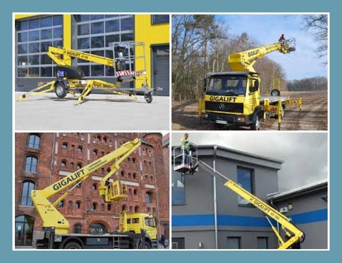 Gigalift Vermietungs-GmbH Arbeitsbühnenverleih Rostock, Schwerin, Wismar, Neubrandenburg