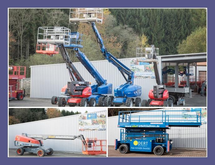 Udert Mietgeräte GmbH & Co. KG – Lift-Anbieter in Dierdorf in der Nähe von Dernbach, Neuwied